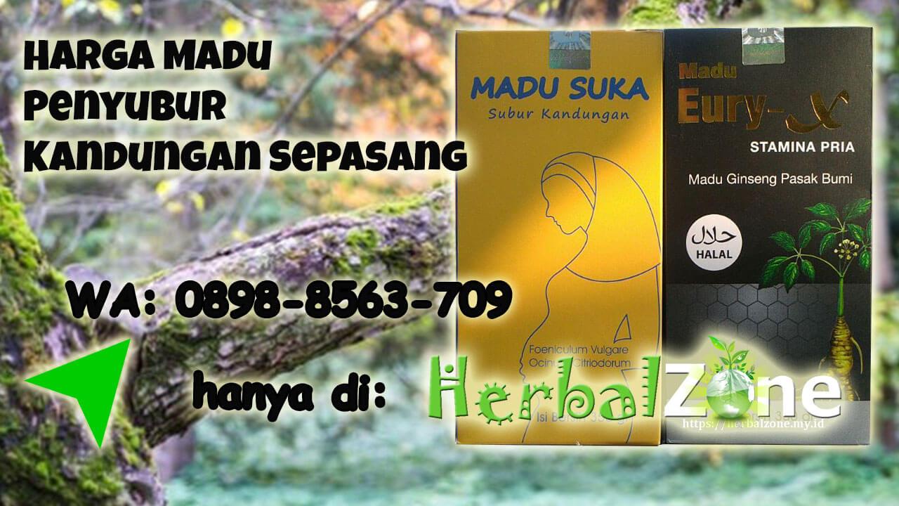 Tersedia Promo Harga Madu Penyubur Kandungan Sepasang Order ke 0898-8563-709