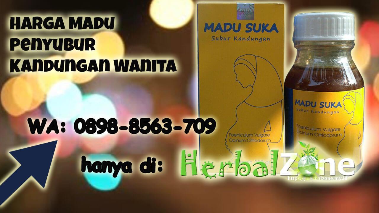Tersedia Promo Harga Madu Penyubur Kandungan Wanita Order ke 0898-8563-709