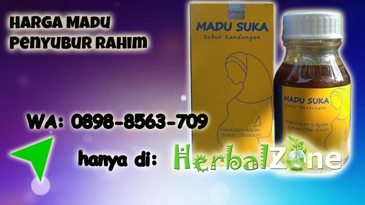 Tersedia Promo Diskon Harga Madu Penyubur Rahim Order ke 0898-8563-709