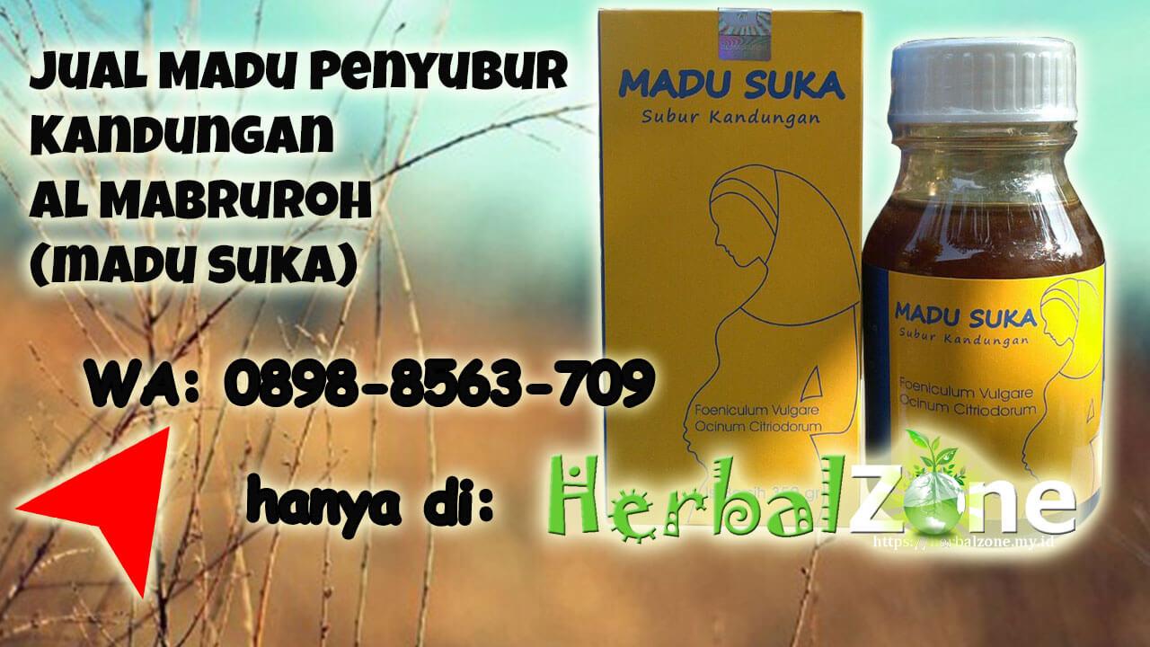 madu penyubur kandungan Al Mabruroh Terbaru bernama Madu Suka