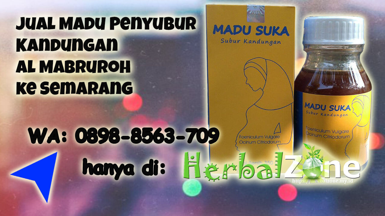 Jual Madu Penyubur Kandungan Al Mabruroh ke Semarang