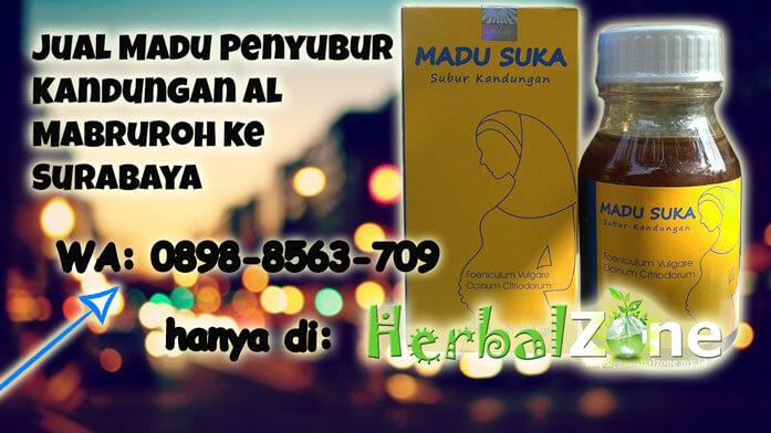 Jual Madu Penyubur Kandungan Al Mabruroh Di Surabaya
