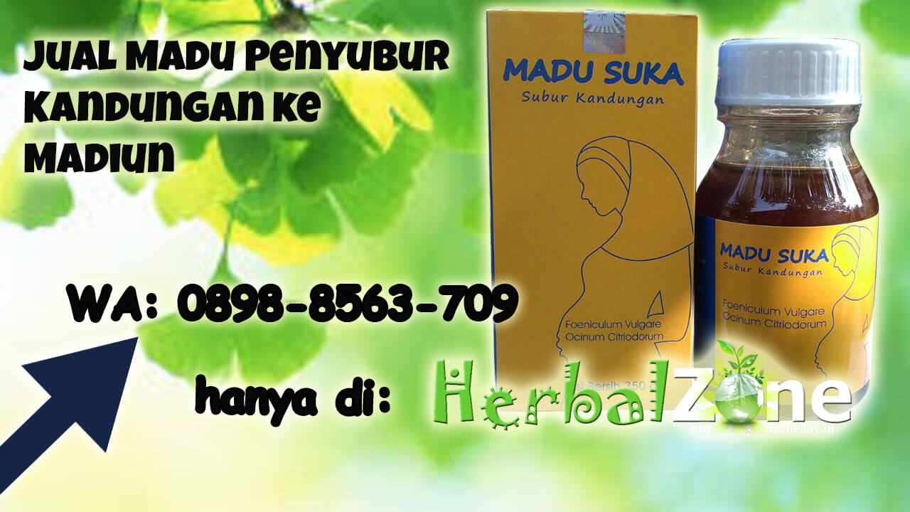 HerbalZone.my.id Jual Madu Penyubur Kandungan ke Madiun