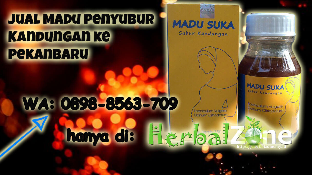 HerbalZone Jual Madu Penyubur Kandungan ke Pekanbaru