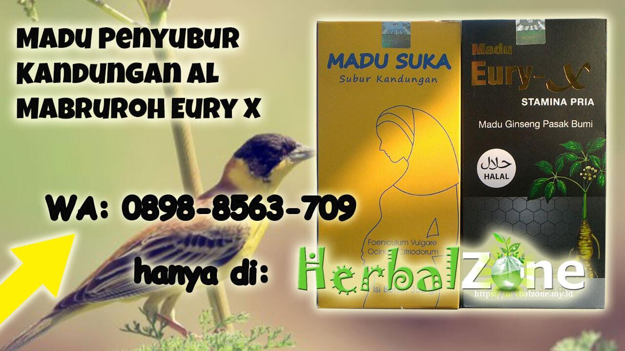 Tersedia Madu Penyubur Kandungan Al Mabruroh Eury X Order ke 0898-8563-709
