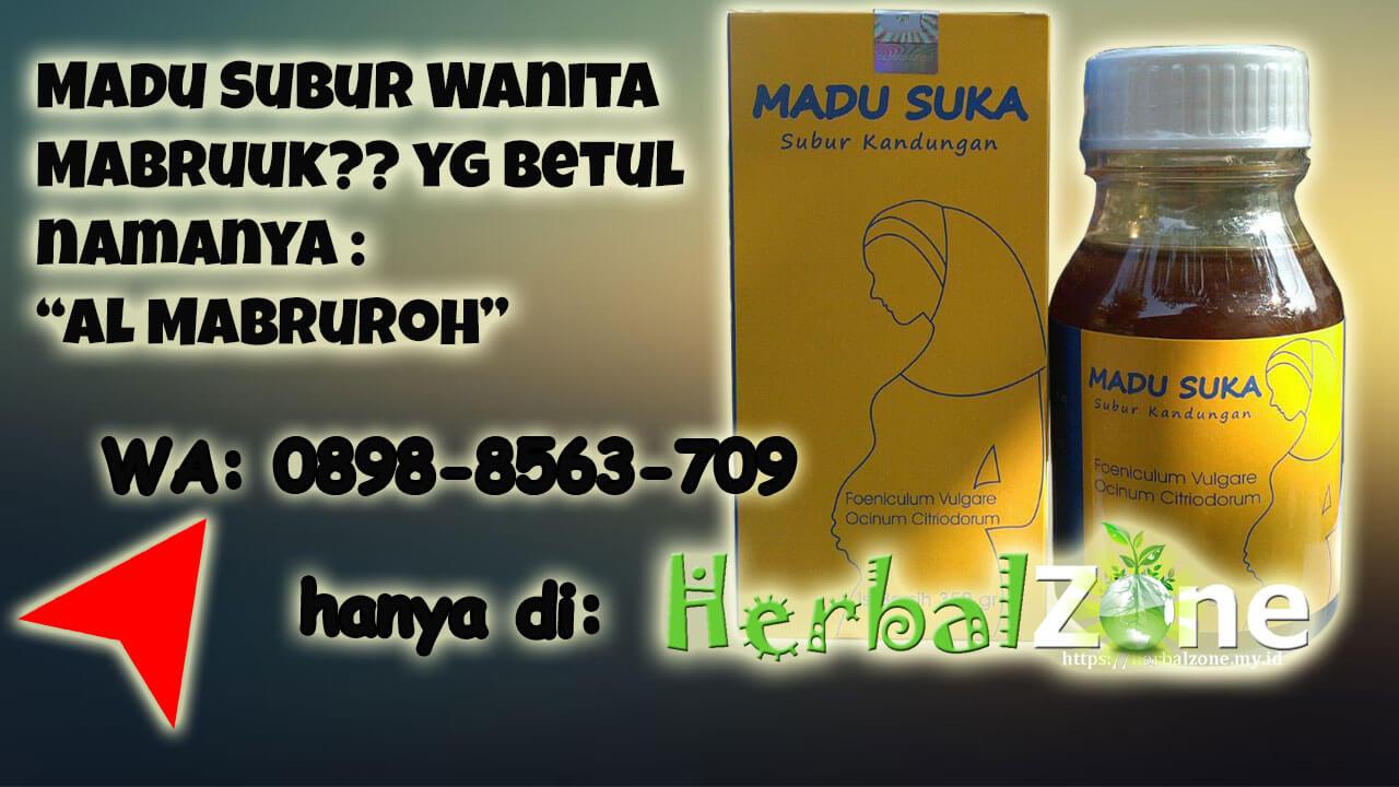 Tersedia Madu Subur Wanita Mabruuk Order ke 0898-8563-709