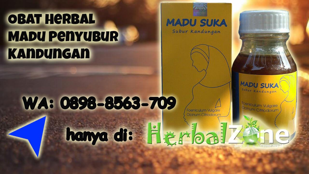 Tersedia Obat Herbal Madu Penyubur Kandungan di HerbalZone Order ke 0898-8563-709
