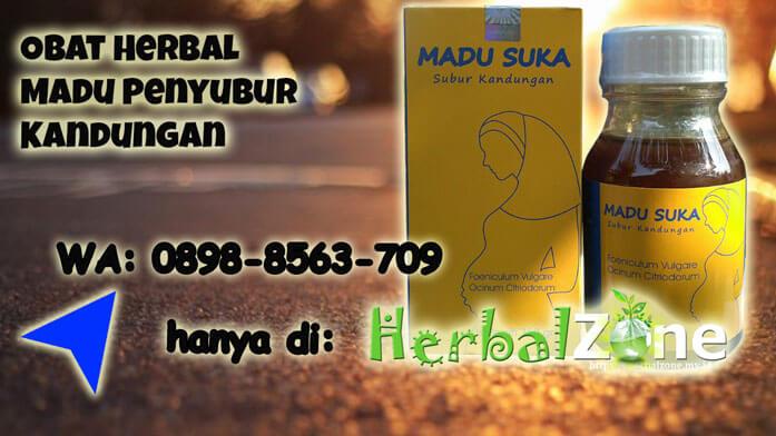 Obat Herbal Madu Penyubur Kandungan