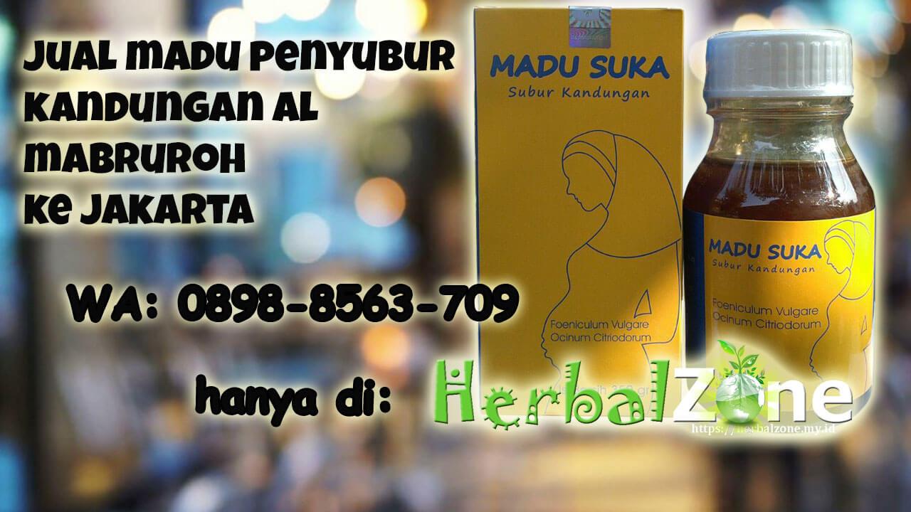 kami menjual madu penyubur kandungan al mabruroh ke Jakarta